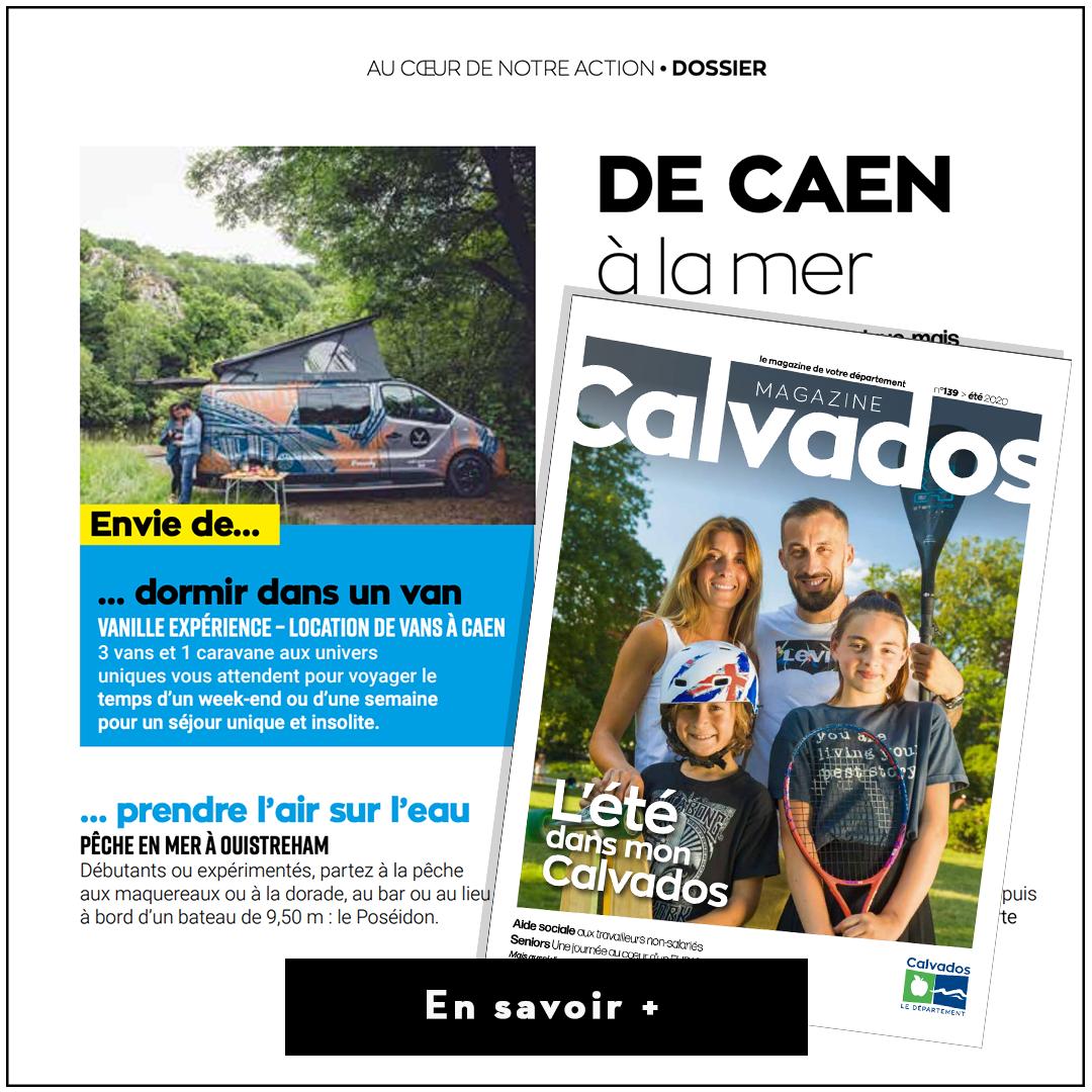 Article Presse Calvados Magazine