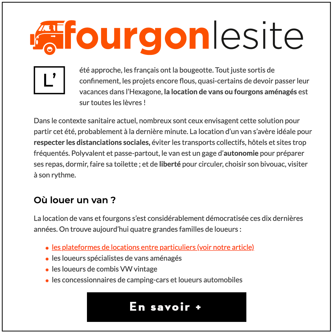 Article Fourgon le site